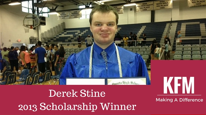 Derek Stine2013 Scholarship Winner