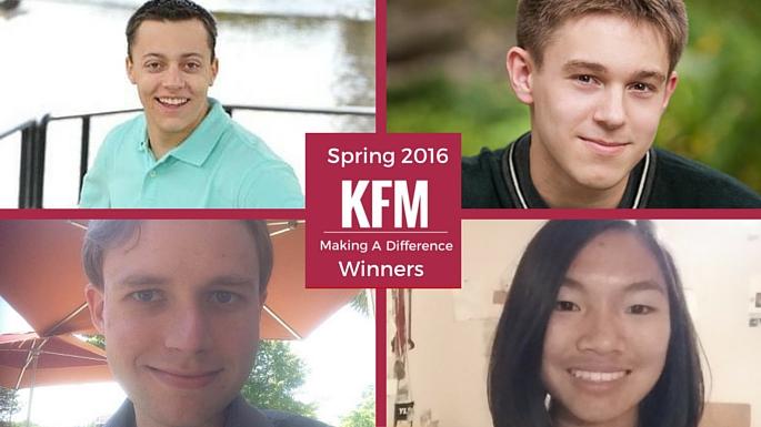 Spring 2016 Winners